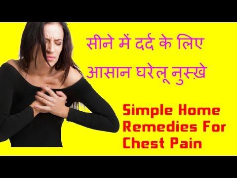 Simple Home Remedies for Chest Pain in Hindi | सीने में दर्द के लिए घरेलू नुस्ख़े