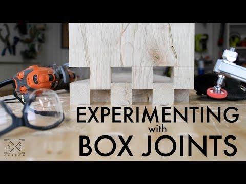 Experimenting with Box Joints // Quick, Simple and Precise // Power Tools