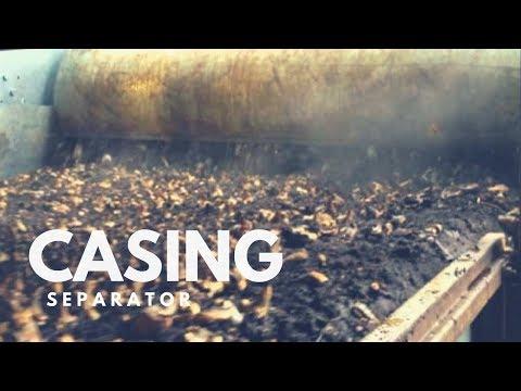 Mushroom Machinery - Functional Casing Separator