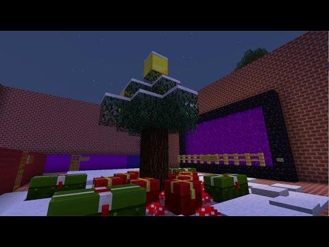 Christmas 2016//Minecraft Build Ideas Tutorial