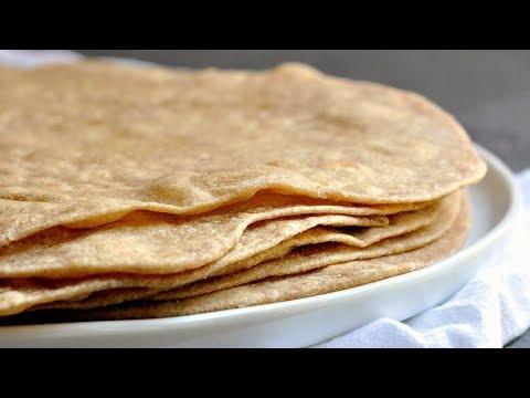 Homemade Whole Wheat Tortillas Recipe!