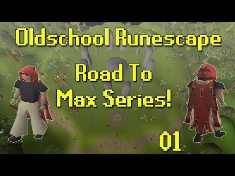 [OSRS] Road To Max! - Episode 1 - Quest Grind!
