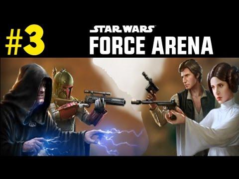 Star Wars Force Arena - EPIC 2 vs 2 PvP battles !! (SWFA Ep #3)