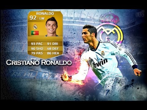 Ronaldo - Best Player in FIFA ?! - Master Player Review - FIFA 14 Ultimate Team