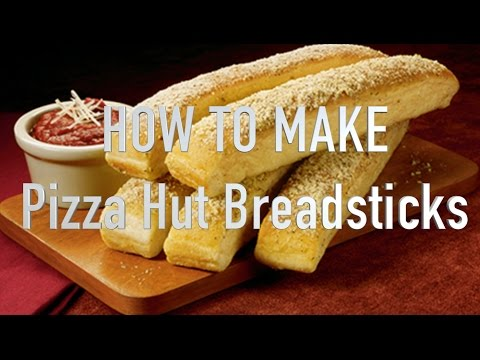 HOW TO MAKE Pizza Hut Breadsticks SHORT | HellthyJunkFood