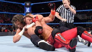 AJ Styles Vs. Dolph Ziggler Highlights   Smackdown 5-30-17