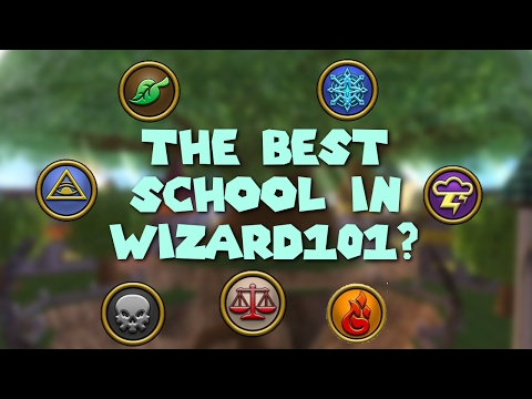 What Is The BEST School To Pick In Wizard101?