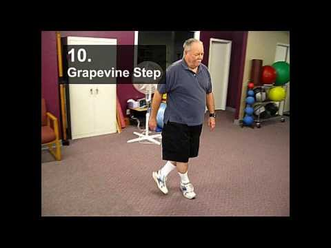 Fall Prevention Exercises (Balance Series) - Grapevine Step