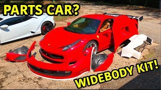 We Got Another Ferrari 458 For Parts!?
