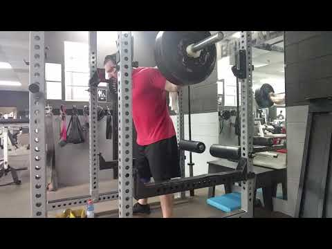 Brutal Iron Gym - Example of: 3/4 ROM Quad Drive Squats