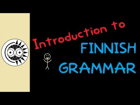 Introduction to Finnish Grammar