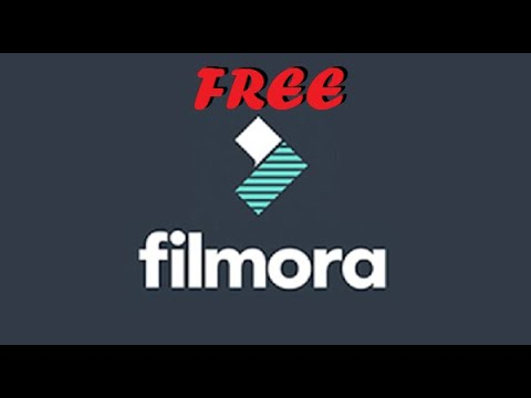 How to get FULL VERSION of WonderShare Filmora for FREE