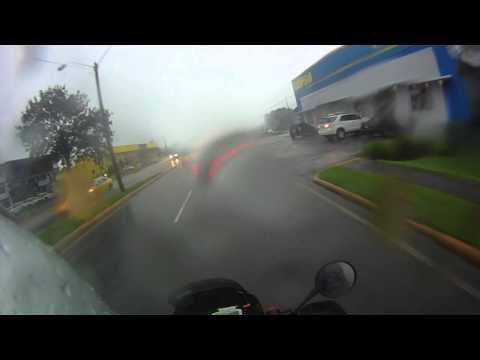 ProTip: Riding a Motorcycle in the rain