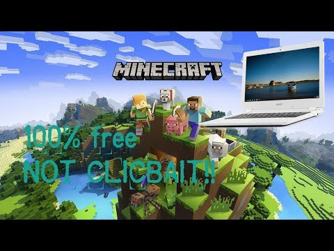 How to download minecraft for free in chromebook (Not Clickbait)