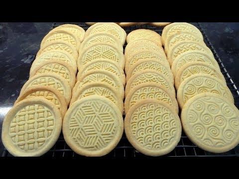 Lemon Shortcake Biscuits Cookies Full