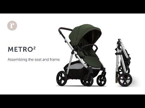 METRO² Pram - Seat & Frame Assembly