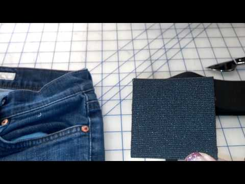 Increase waist on jeans