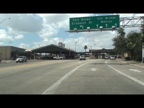 BROWNSVILLE, TEXAS -  MATAMOROS, MEXICO BORDER CROSSING