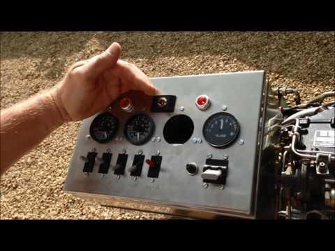 Gem MK510 Helicopter Engine Test Run