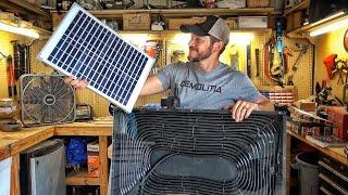 Homemade Solar Powered Water Heater