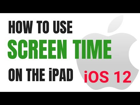 How to Use Screen Time in iOS 12 on an iPad