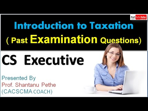 TLP=PEQ=02=Introduction to Taxation