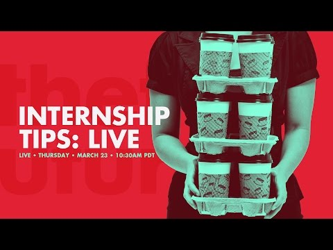 🔴 How to Get Your First Internship as a Designer : Facebook & Youtube Live