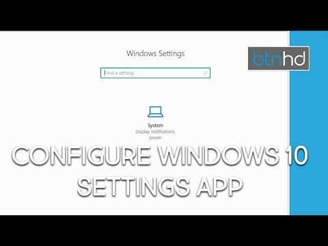 Hide Pages from Windows 10 Settings App!