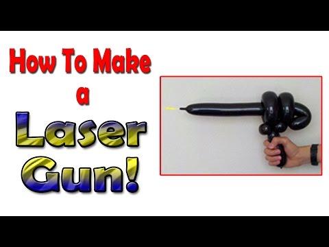 how make a laser gun