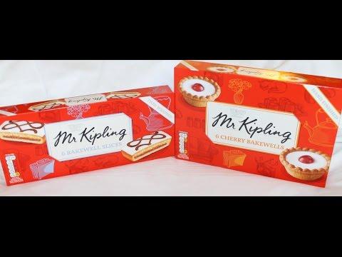 Mr. Kipling: Bakewell Slices & Cherry Bakewells Review