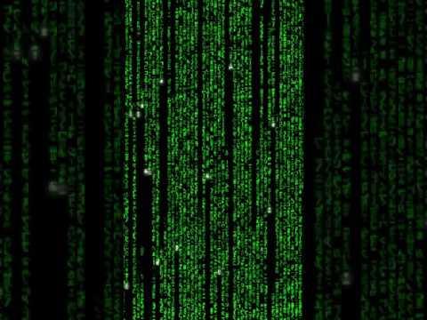 Matrix Screensaver for iPhone 6, 6s, 7