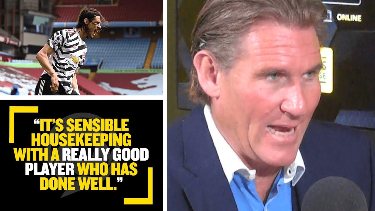 """SENSIBLE HOUSEKEEPING!"" Simon Jordan explains why signing Cavani at Man United is good business"