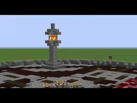 Minecraft | Simple Spawn/Lobby | Speed Build |
