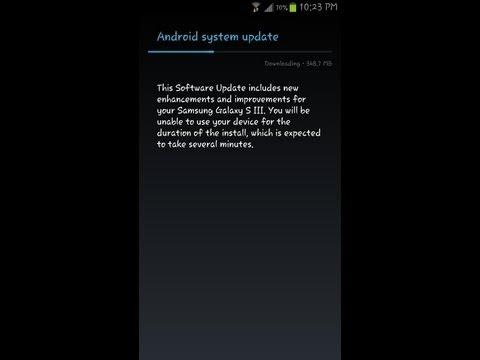 Samsung Galaxy s3 force jellybean update (sprint)