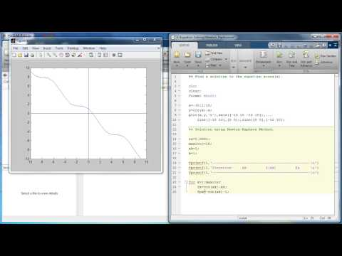 Equation Solver in MATLAB