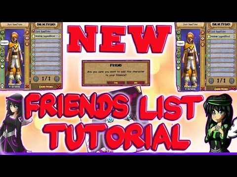 Wizard101 New Friends List! (Tutorial) New Arena Gear for Tickets! Gear Drops From Tournaments!