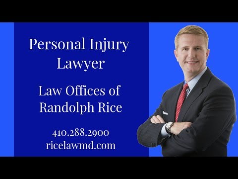 Personal Injury Lawyer (Randolph Rice): Explains how to get more $$$$$ after accident [2018]