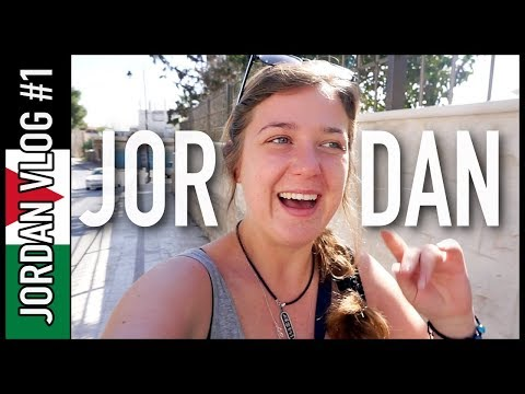 HELLO, JORDAN! | Jordan Travel Vlog #1