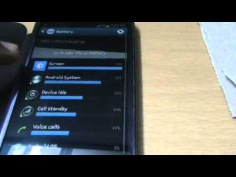 Samsung Galaxy S3 Battery Life