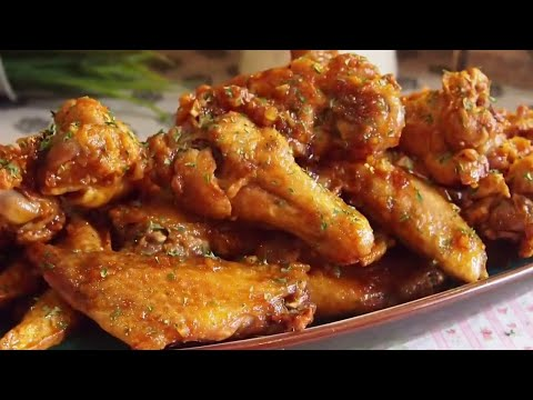SECRET TO CRISPY AIR-FRIED CHICKEN WINGS REVEALED! Crunchy Buffalo Wings
