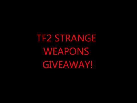 TF2 Strange Weapon Giveaway