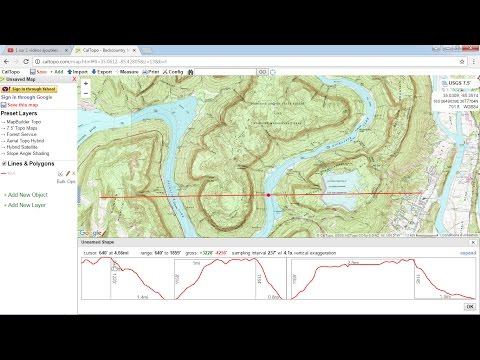 Download topographic maps from caltopo