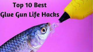 10 awesome HOT GLUE GUN LIFE HACKS compilation
