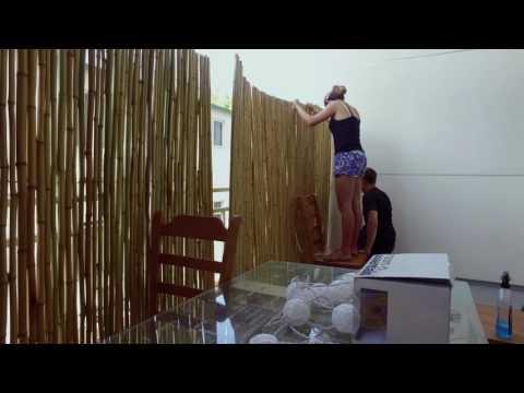 VLOG: Balcony fencing upgrade project in condo complex