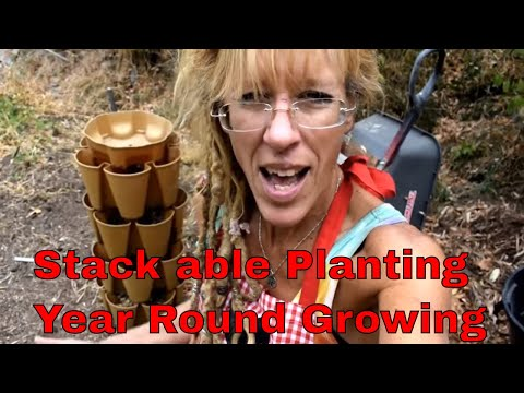 GET READY FOR GROWING SEASON :STACKABLE PLANTING