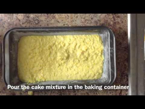 Torta De Elote/Sweet Corn Cake (mexican)