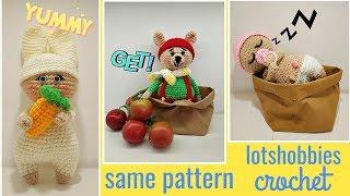 Primo schema, creare la bambola a uncinetto - istruzioni base. | 180x320