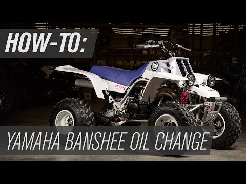 How To Change the Oil on a Yamaha Banshee