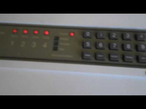 how to change the code on optima xm burglar alarm control panel