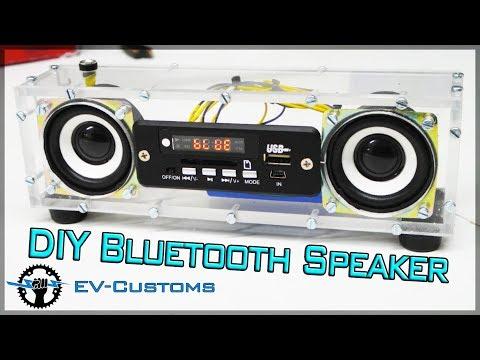 DIY Bluetooth USB FM player from Plexiglass  frames cut  on CNC machine